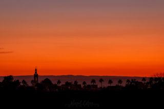 Posta de sol a Albalat