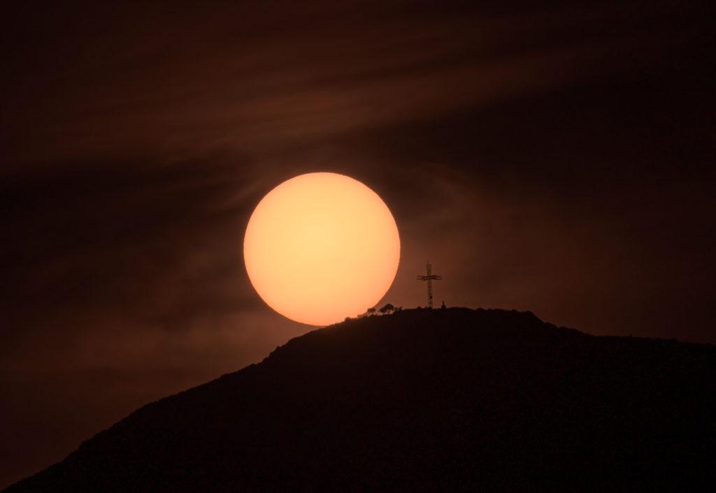 Posta de sol a Matamon